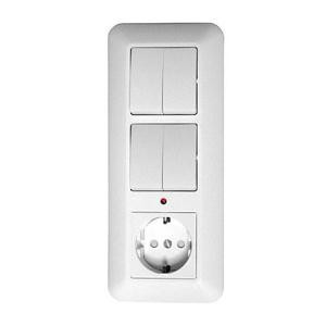 Блок Schneider Electric Прима BK2VR-005B-B белый